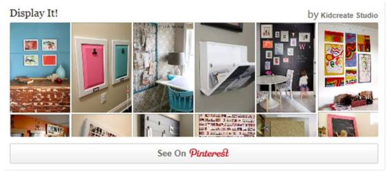 pinterest display it board