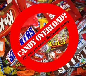 15 uses for halloween candy